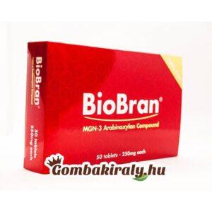 BioBran tabletta 250 mg (50x)