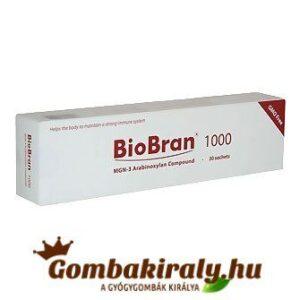 biobran 1000 mg porkészítmény