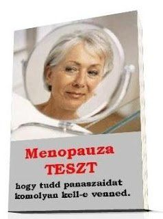 menopauza teszt