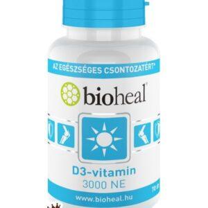 D3-vitamin 3000NE lágykapszula (70x)