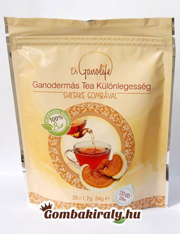 Hogyan kell ganodermás teát készíteni?