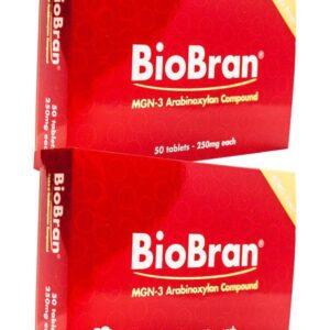 BioBran tabletta 250 mg (50x) 2 db