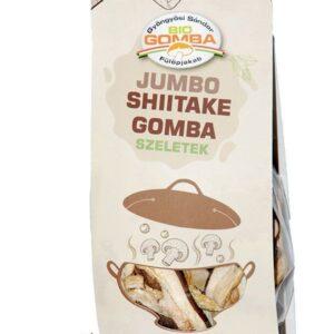 Biogomba Jumbo Shiitake gomba (szeletelt) 20 g