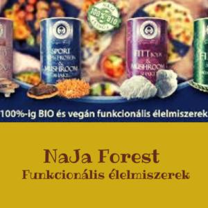 NaJa Forest funkcionális élelmiszerek