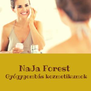 NaJa Forest gyógygombás kozmetikumok